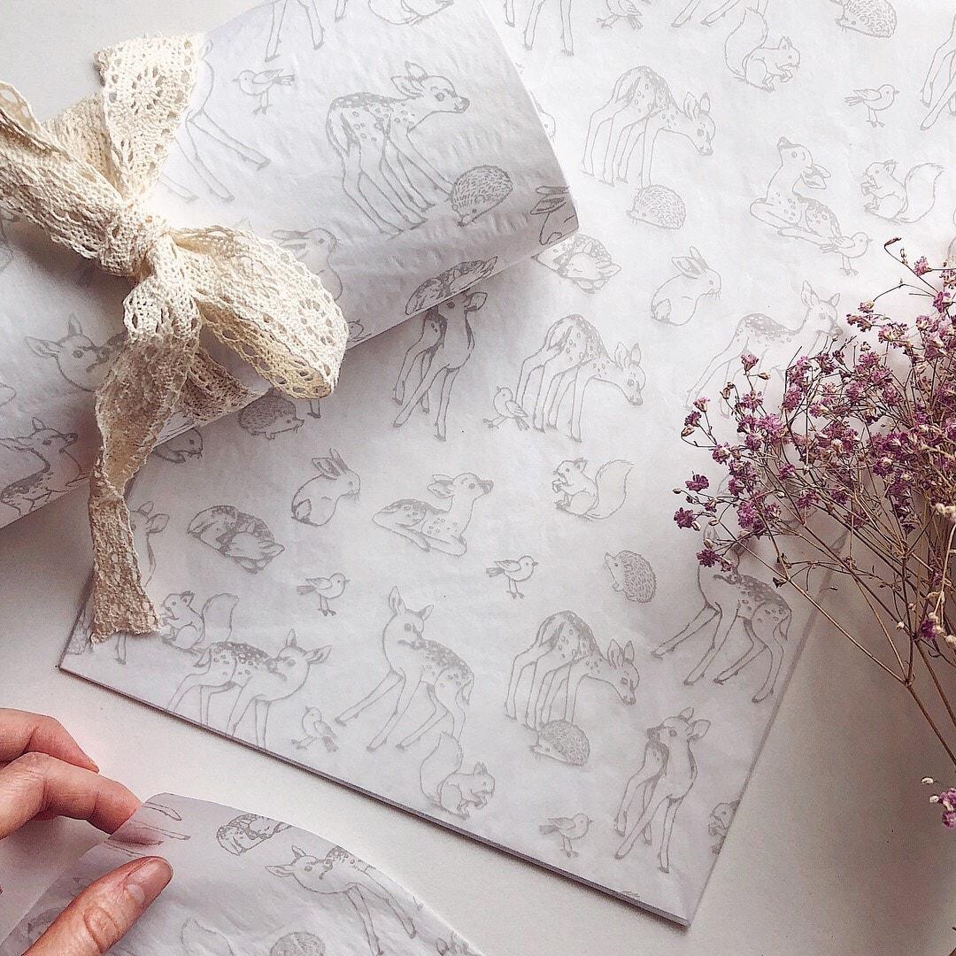 Nina Stajner custom tissue paper