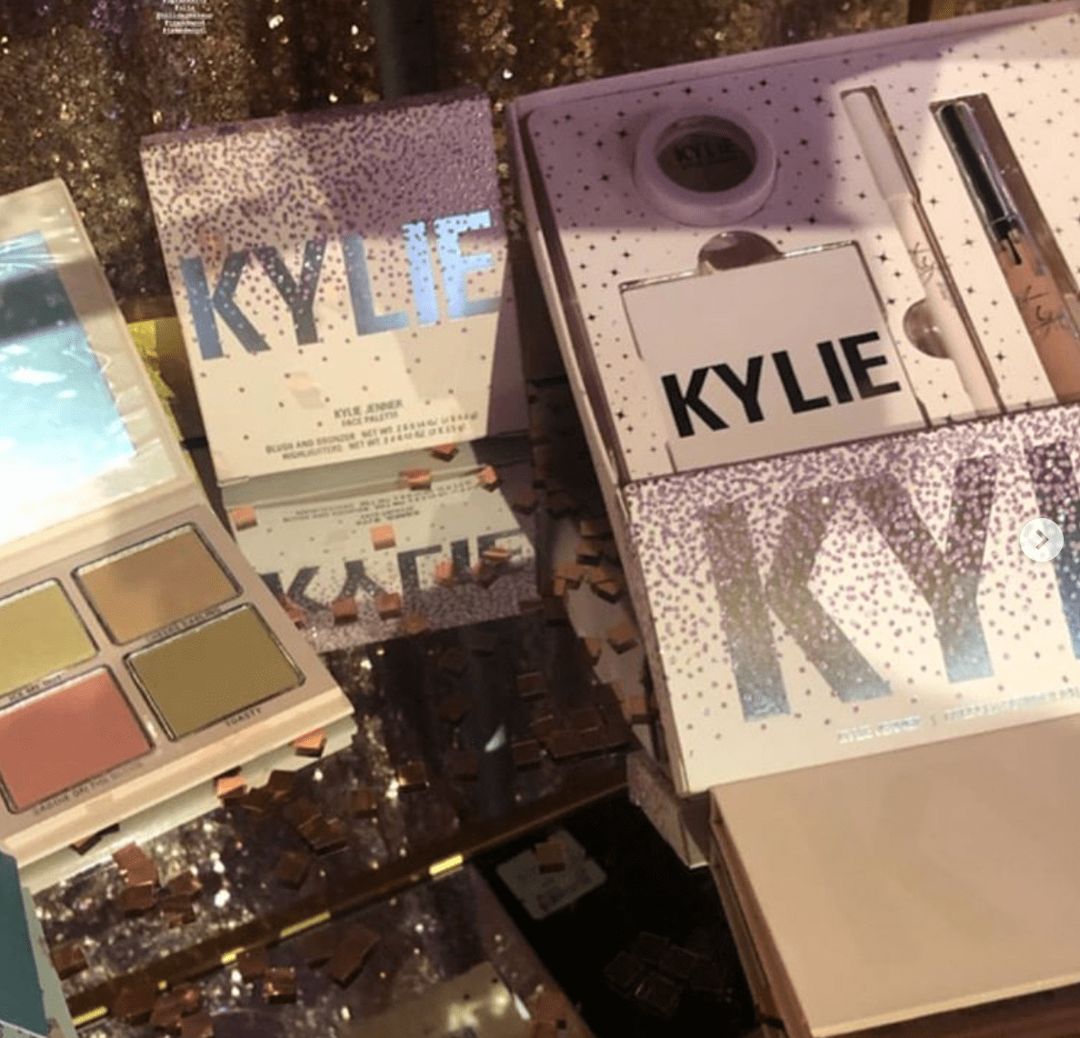 Kylie Cosmetics holiday collection 2019
