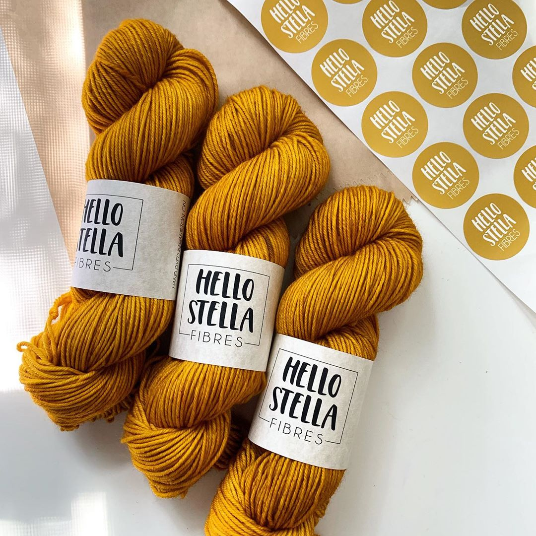 Custom stickers by Hello Stella