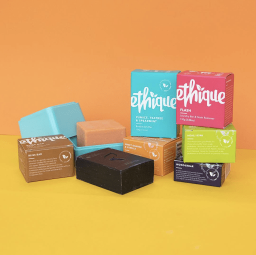 Ethique Beauty compostable packaging