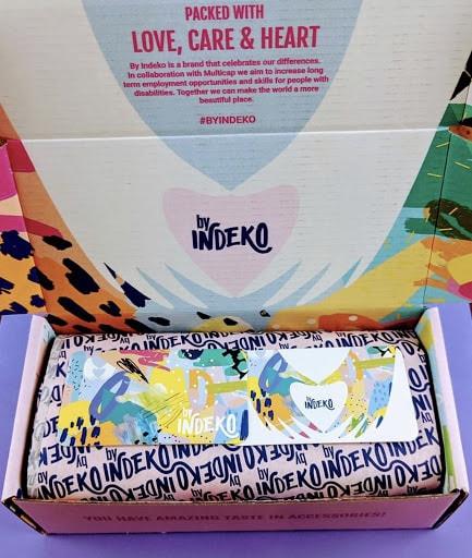 Branded eCommerce Packaging by Indeko